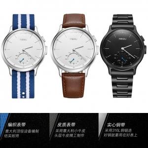 魅族mix轻智能石英表亮相第35届香港钟表展,附各参数和图片